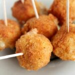 Spicy Fried Cheese Balls Appetizer Recipe – Simple Recipes Appetizers