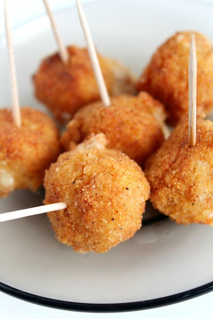 Spicy Fried cheese balls appetizer recipe - Simple Recipes Appetizers