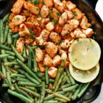 Spicy Green Beans Chicken Skillet