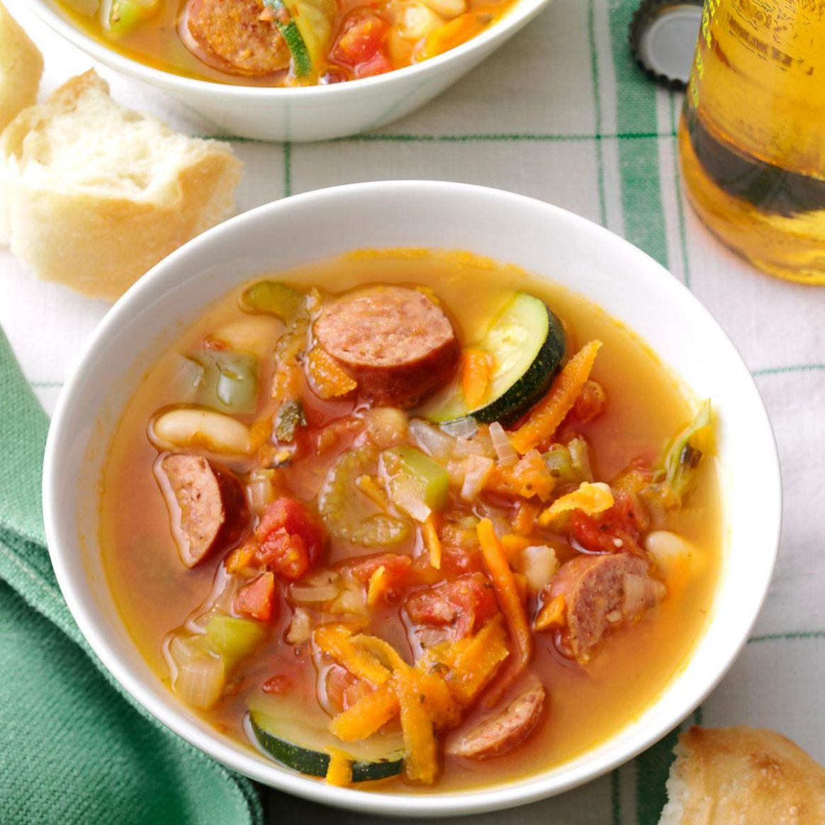 Spicy Kielbasa Soup - Soup Recipes Made With Kielbasa
