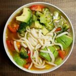 Spicy Udon Noodles With Fresh Vegetables – Recipe Vegetarian Udon Noodle Soup