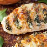 Spinach And Goat Cheese Hasselback Chicken – Recipe Chicken Breast Goat Cheese Spinach