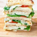 Spinach And Tomato Grilled Cheese Pitas – Sandwich Recipes Cheese