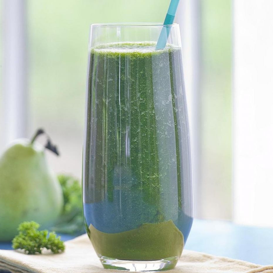 Spinach-Apple Juice - Recipes For Vegetable Juice In A Blender