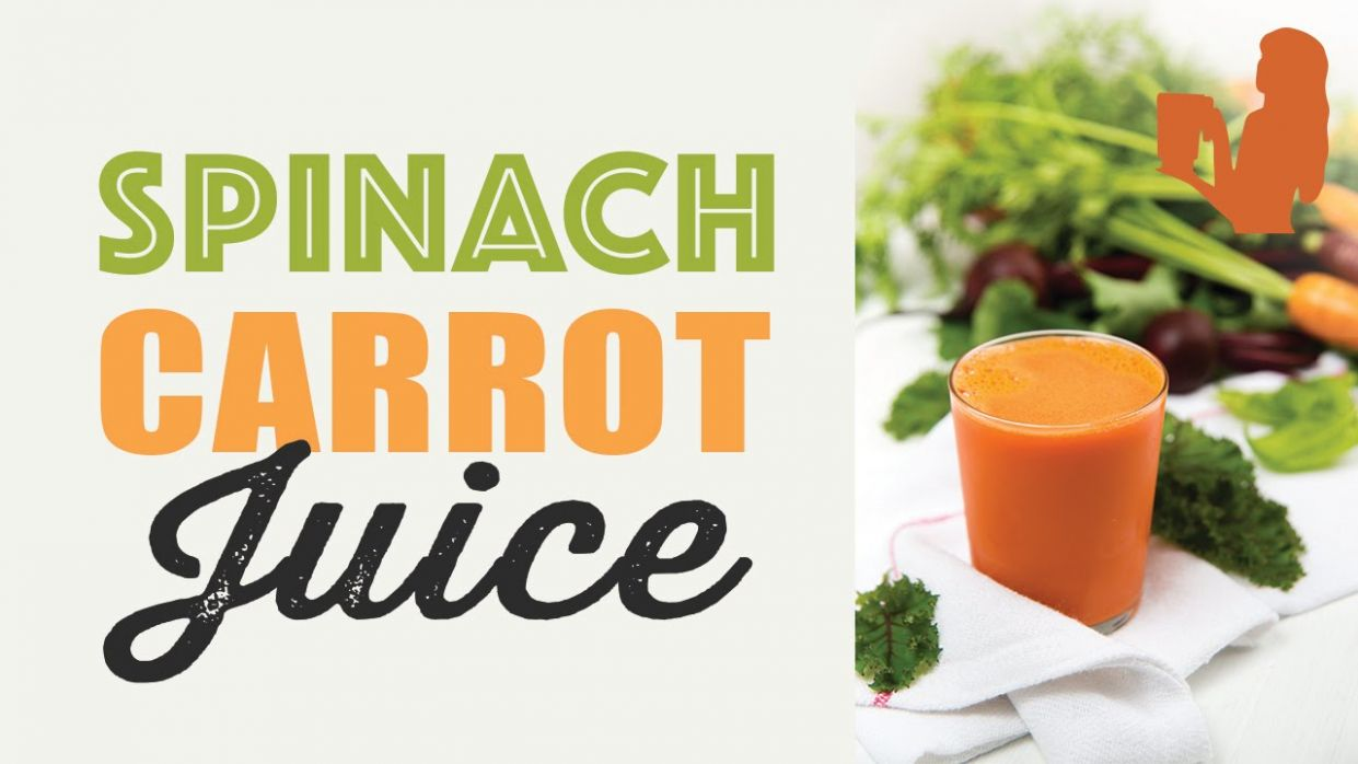 Spinach Carrot Juice recipe made using a Vitamix or Blendtec commercial  blender - Vitamix Recipes Vegetable Juice