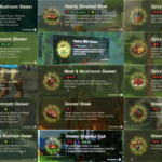 """SPOILERS] Breath Of The Wild – Heres Every """"Cooked Food"""" Meal We .."""