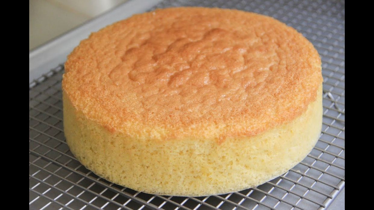 Sponge Cake Recipe - Japanese Cooking 9 - Cake Recipes Video Youtube