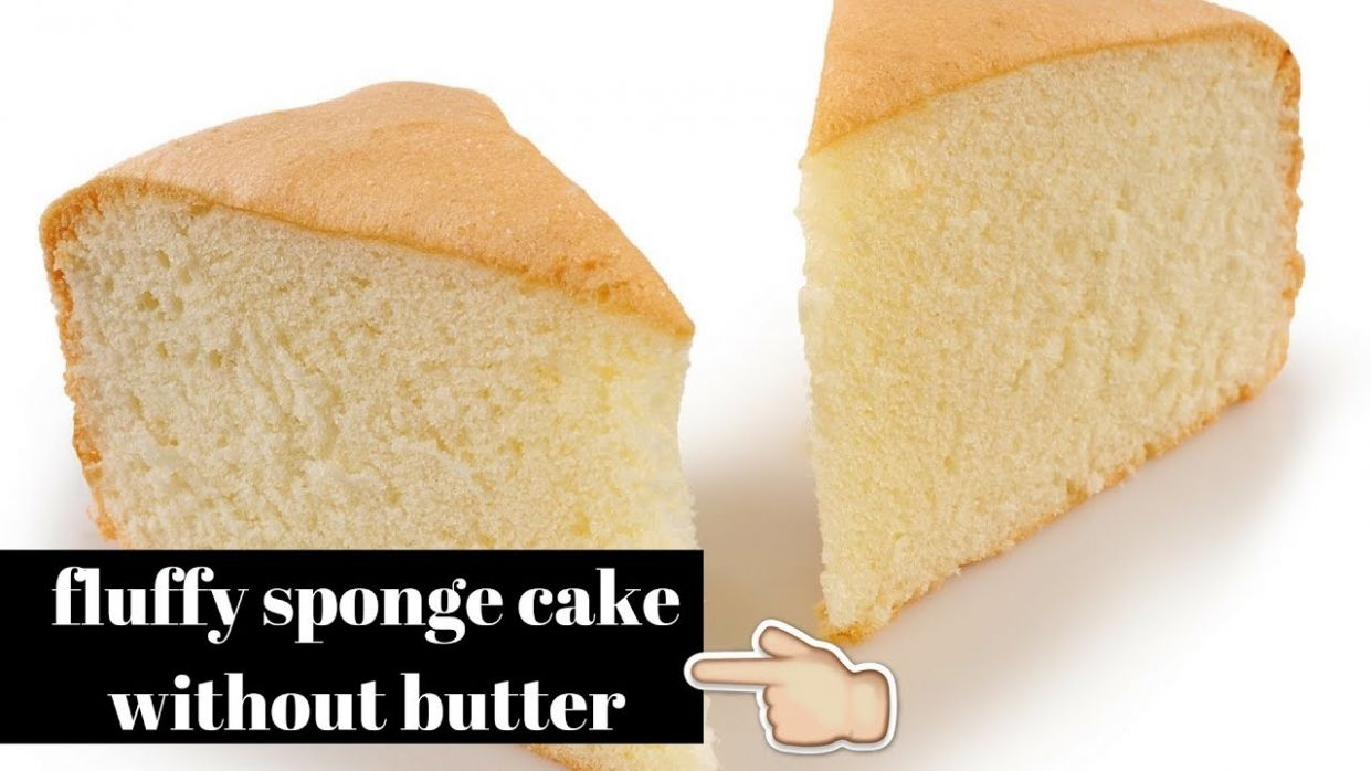 Sponge cake without butter|best sponge cake recipe| - Cake Recipes No Butter