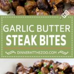 Steak Bites With Garlic Butter – Recipes With Beef Cubes