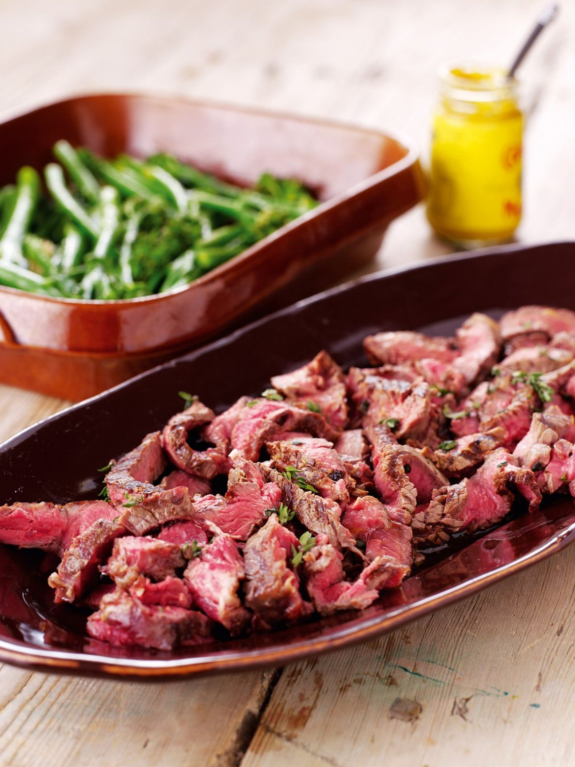 Steak Slice With Lemon and Thyme - Beef Recipes Nigella