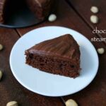 steam cake recipe | eggless steamed sponge chocolate cake