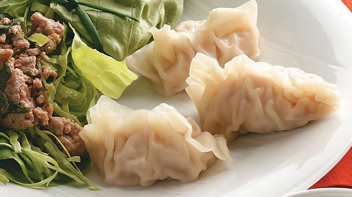 Steamed Pork and Shrimp Dumplings - Recipe Pork Dumplings Steamed