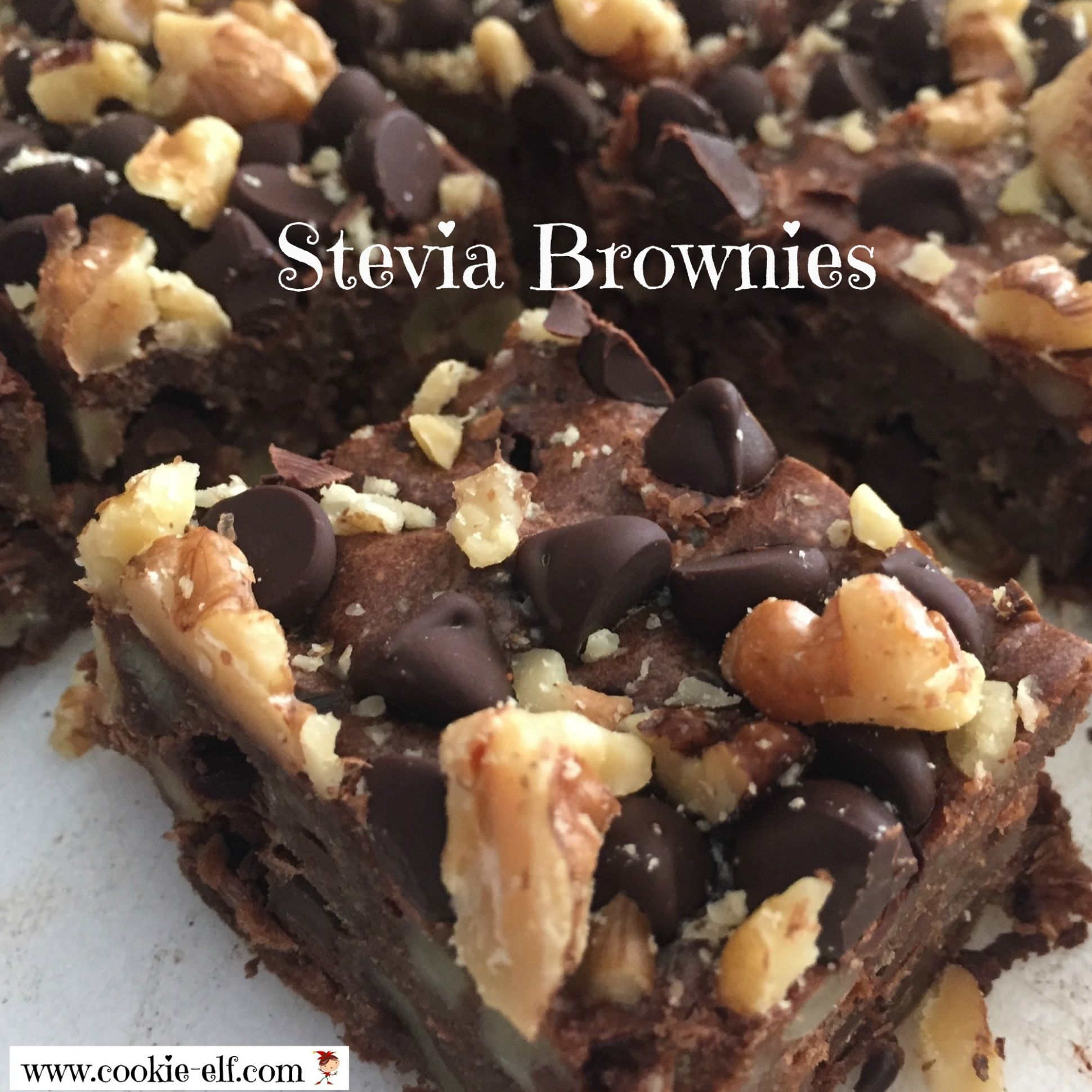 Stevia Brownies: No Sugar – and In the Oven in Less Than 11 Minutes - Dessert Recipes Made With Stevia
