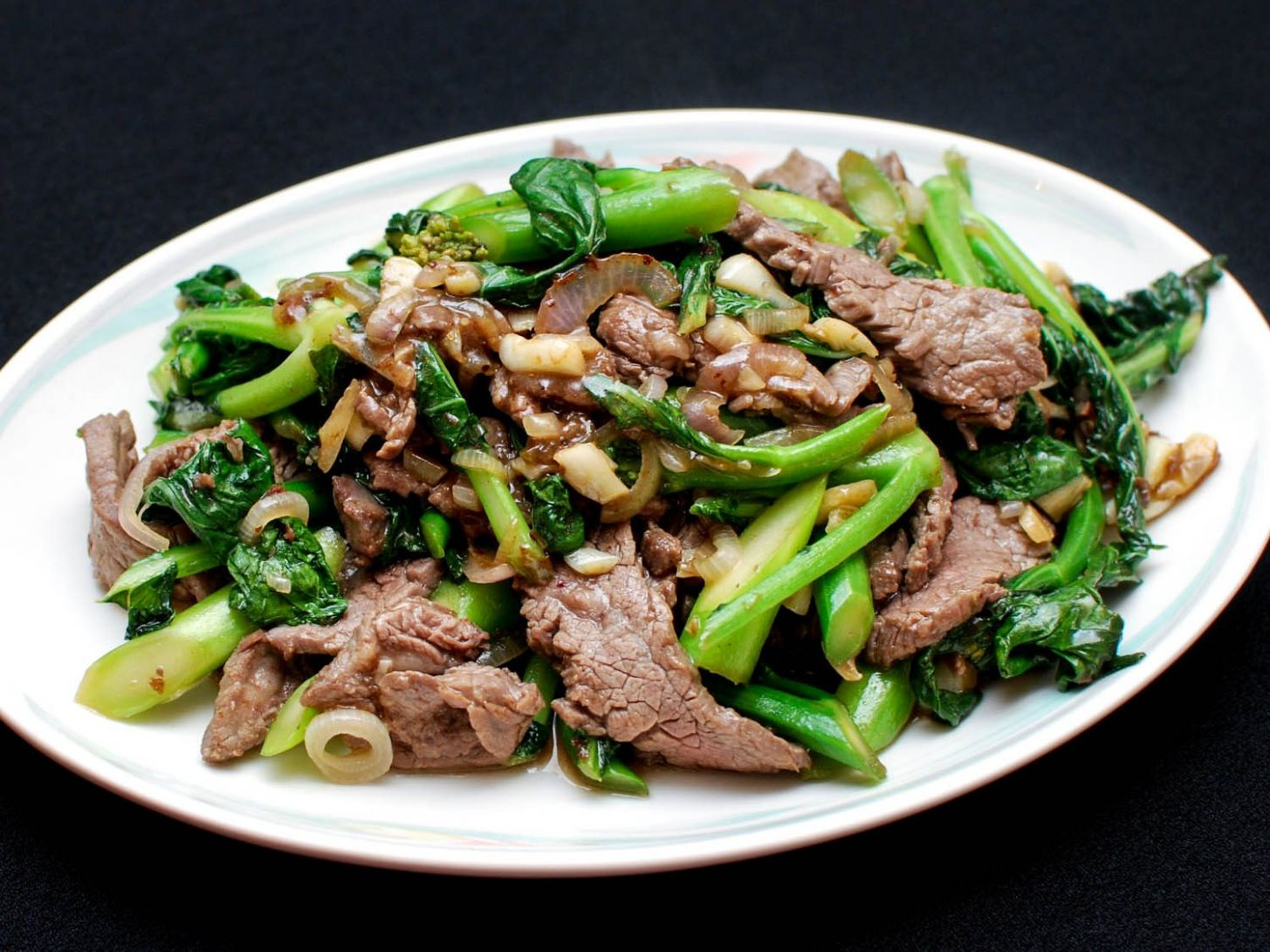 Stir-Fried Beef With Chinese Broccoli Recipe - Recipes Beef And Broccoli Chinese