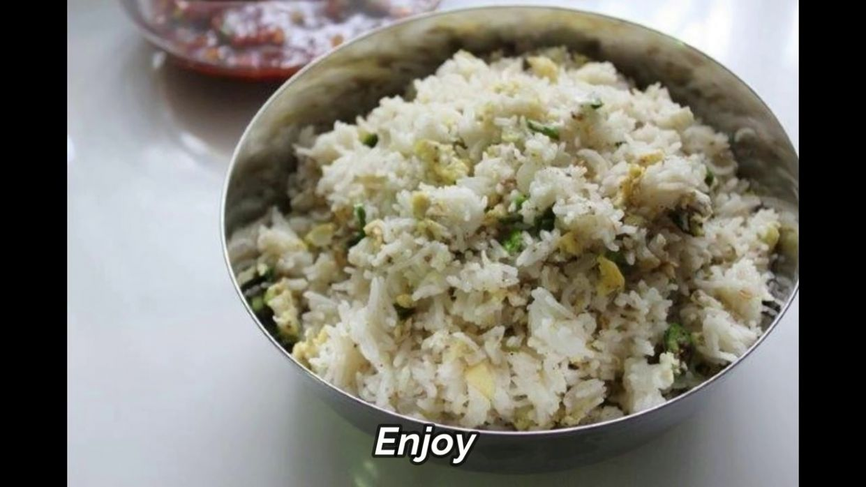 Stir Fry Egg Rice Recipe - Variety Rice Recipes Yummy Tummy