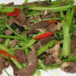 Stir Fry Pig's Heart Recipe – How To Cook Pig's With Choy Sum By ..