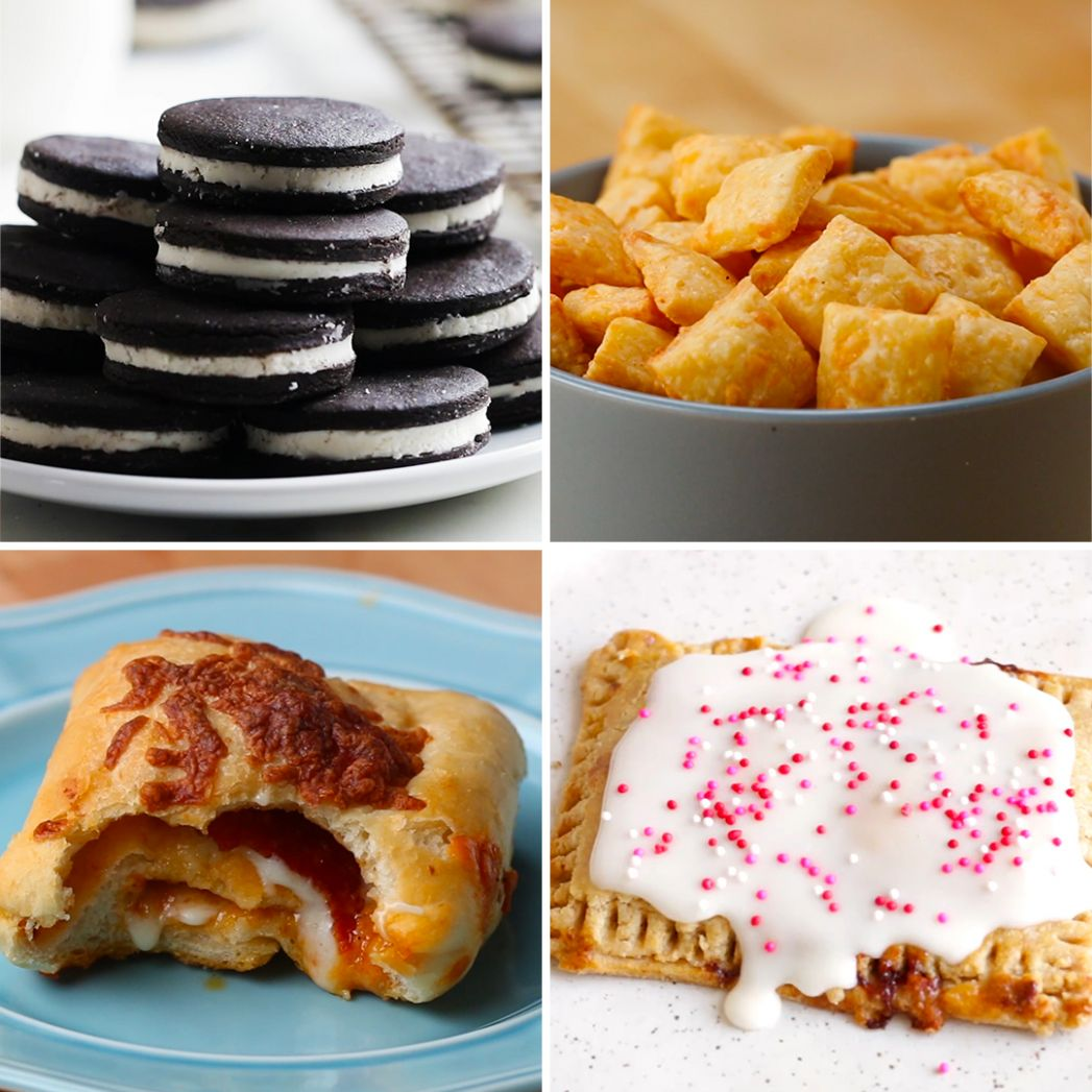 Store-Bought Snacks You Can Make At Home | Recipes - Easy Recipes You Can Make At Home