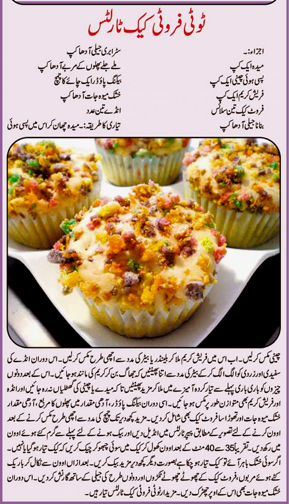 Strawberry Shortcake - Food Recipes Urdu