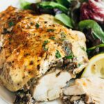 Stuffed Chicken Breasts With Mushrooms & Goat Cheese – Recipe Chicken Breast Goat Cheese