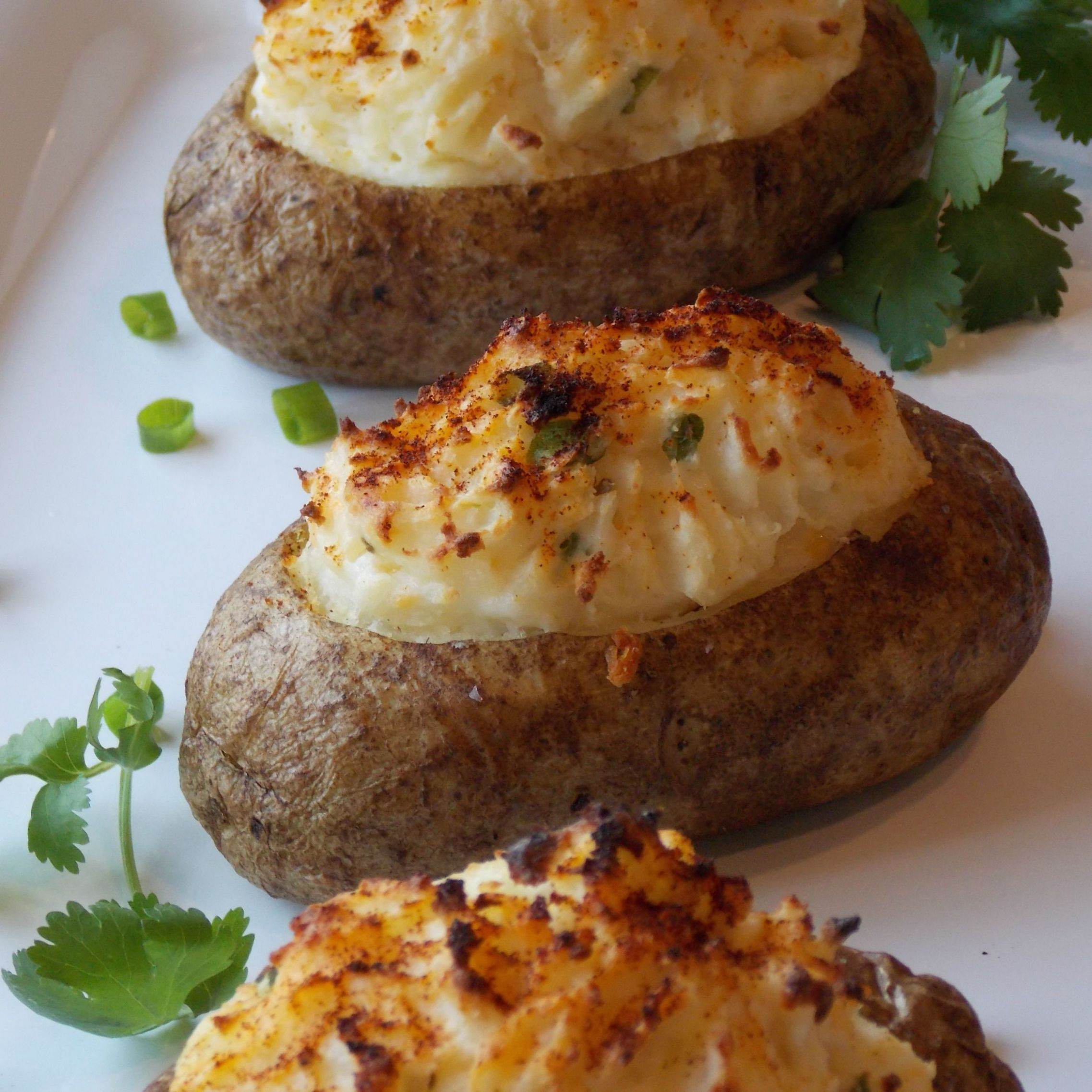 Stuffed jacket potatoes recipe - All recipes UK - Recipes Potato Jackets