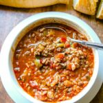 Stuffed Pepper Soup – Recipes Soup Peppers