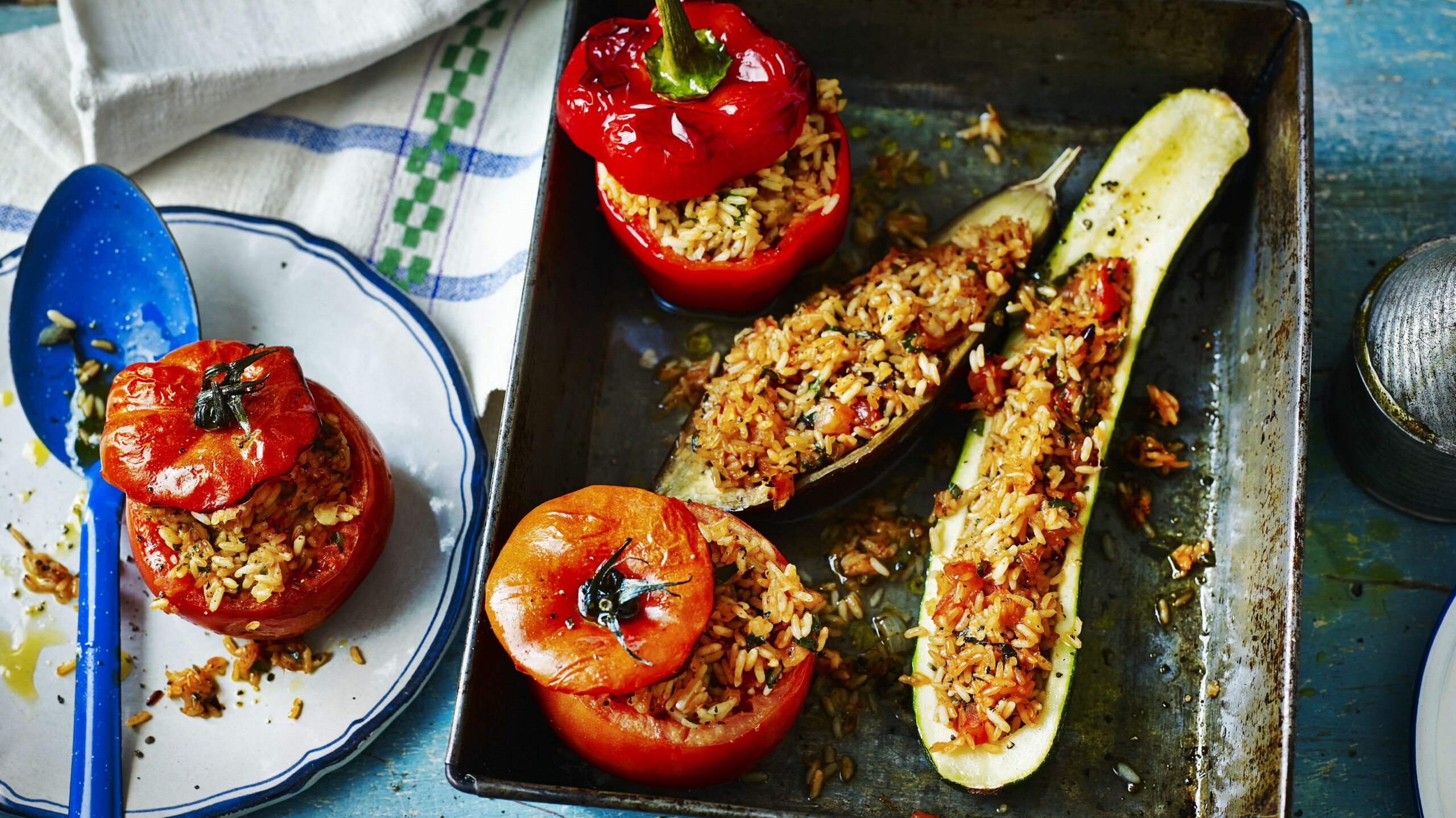Stuffed vegetables - Vegetable Recipes Uk