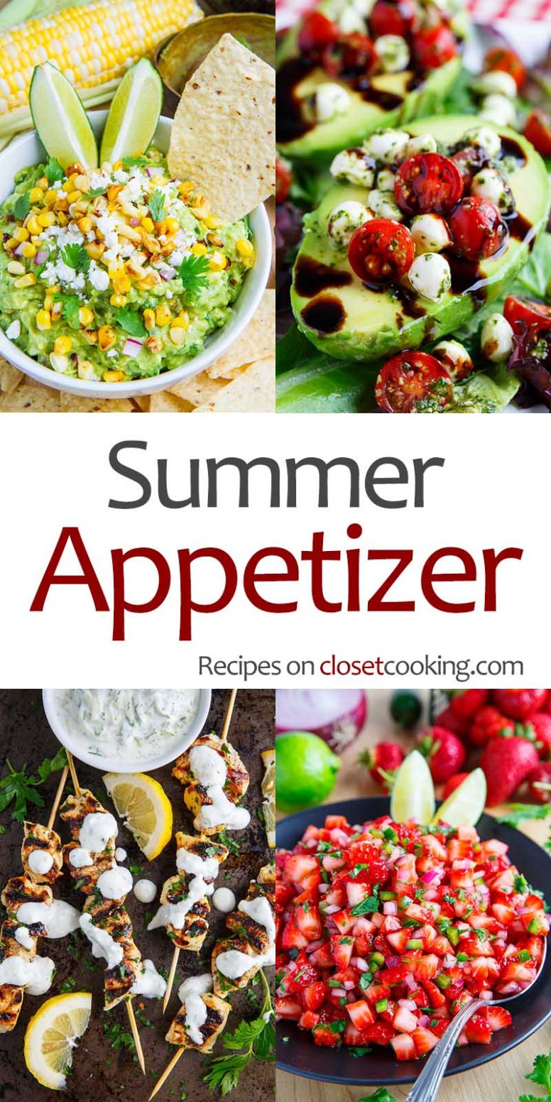 Summer Appetizers - Closet Cooking - Recipes Summer Appetizers