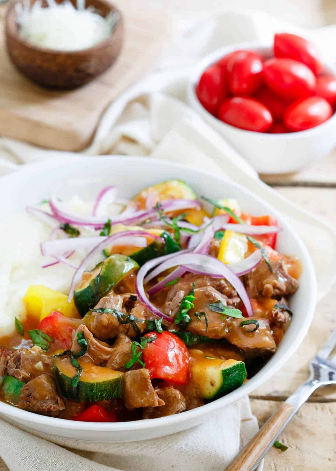 Summer Beef Stew - Slow Cooker Summer Beef Stew - Summer Recipes With Stew Meat