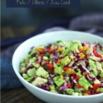 Summer Confetti Salad Low Carb And Gluten Free – Summer Recipes Gluten Free