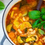 Summer Minestrone Soup Recipe,indian Cuisine,Soups – Soup Recipes Summer