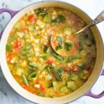 Summer Minestrone Soup – Soup Recipes Summer