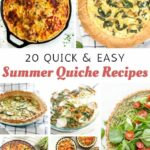 Summer Quiche Recipes For Breakfast, Lunch And Dinner. | Quiche ..
