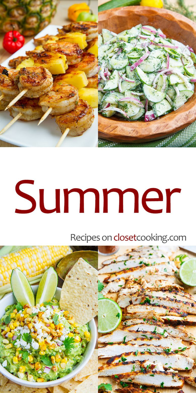 Summer Recipes - Closet Cooking - Summer Recipes Quick And Easy