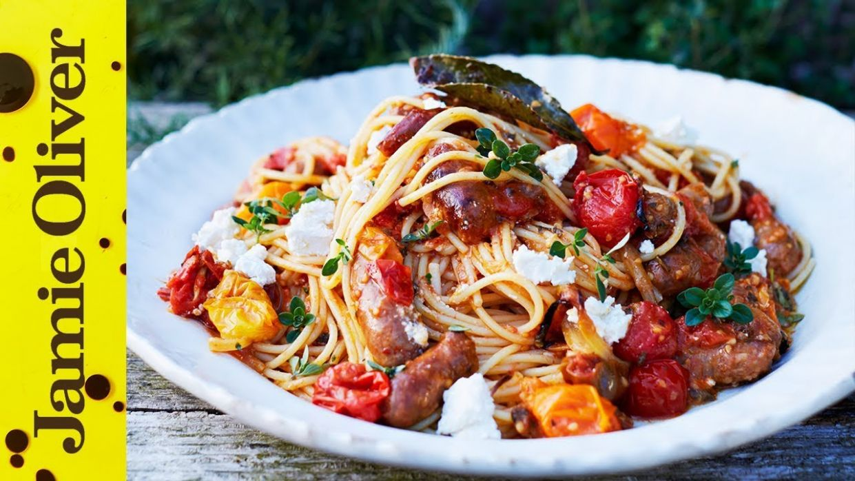 Summer Sausage Pasta | Jamie Oliver - Recipes With Summer Sausage And Pasta
