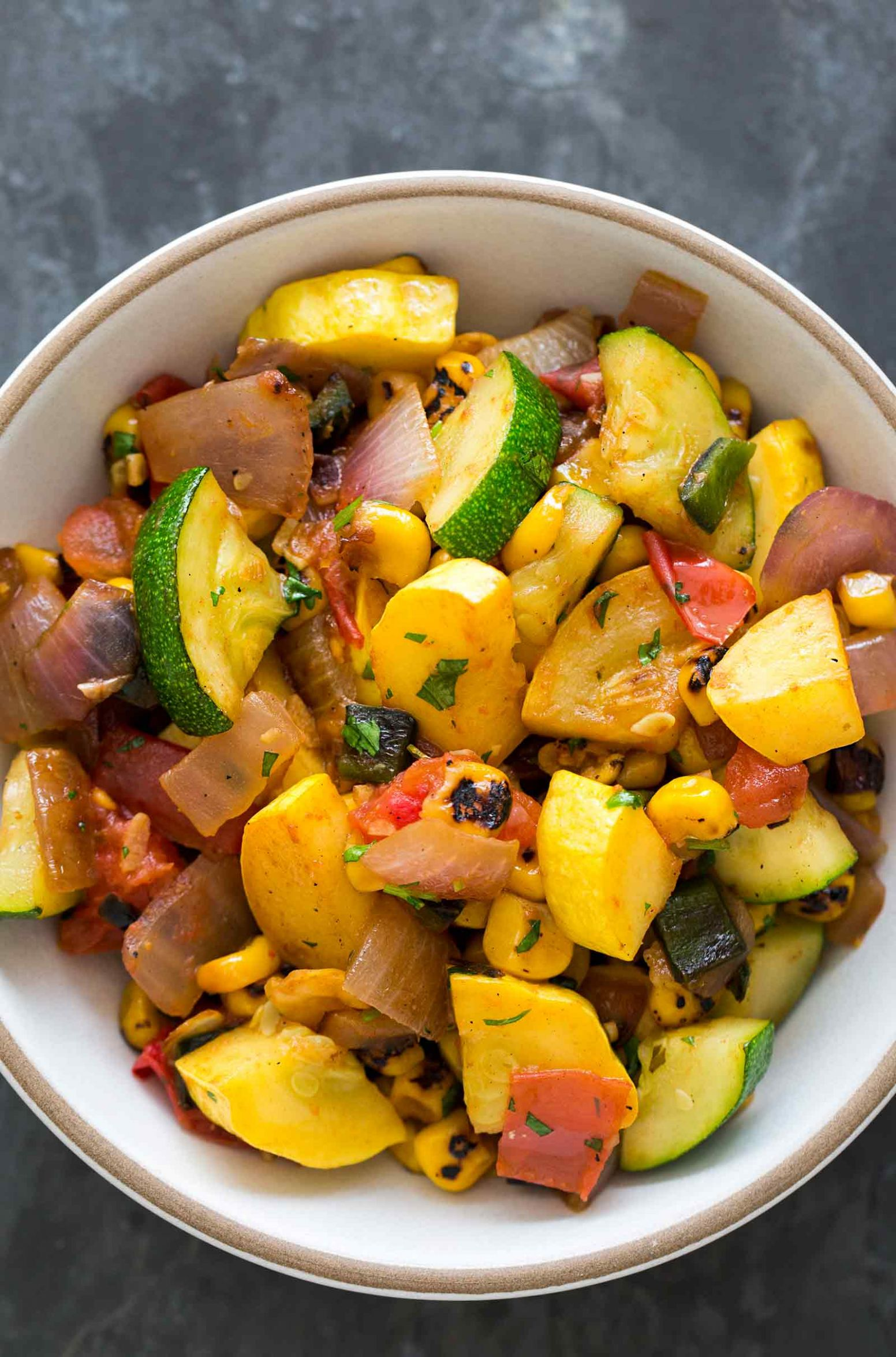 Summer Squash Green Chile Stir Fry - Recipes Summer Squash And Zucchini