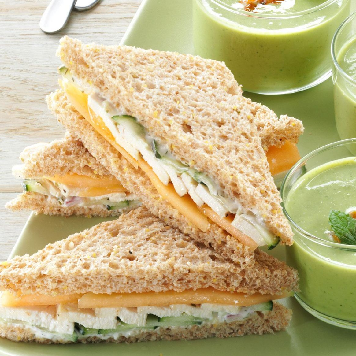 Summer Tea Sandwiches - Sandwich Recipes And Procedures