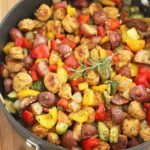 Summer Vegetable, Sausage And Potato Skillet – Recipes Using Summer Sausage