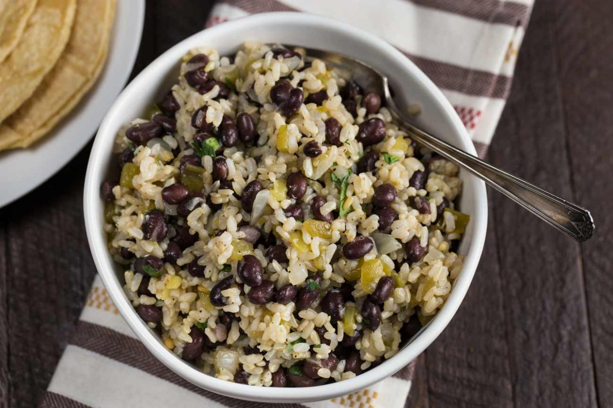 Super Easy Black Beans & Rice - Recipes Rice And Black Beans