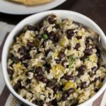 Super Easy Black Beans And Rice (Budget Friendly!)  Veggie Chick – Recipes Rice And Black Beans