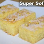 Super Soft Rava Cake (Without Oven) - Sooji Cake Recipe - Semolina Cake -  Kitchen With Amna