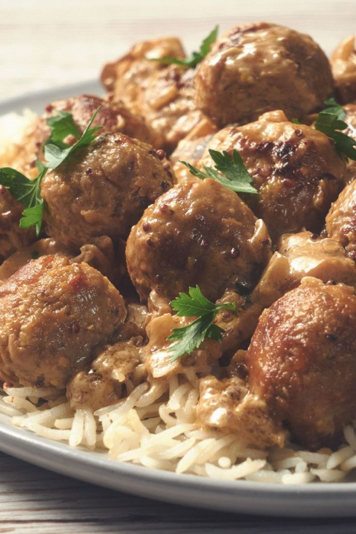 Swedish Style Balls Stroganoff - Quorn Recipes For Weight Loss