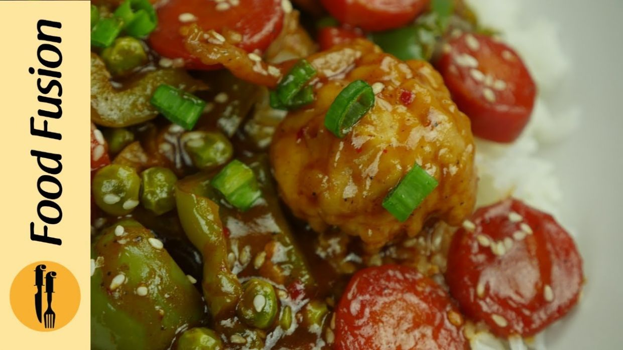 Sweet & Sour Vegetables Recipe By Food Fusion - Vegetable Recipes By Food Fusion