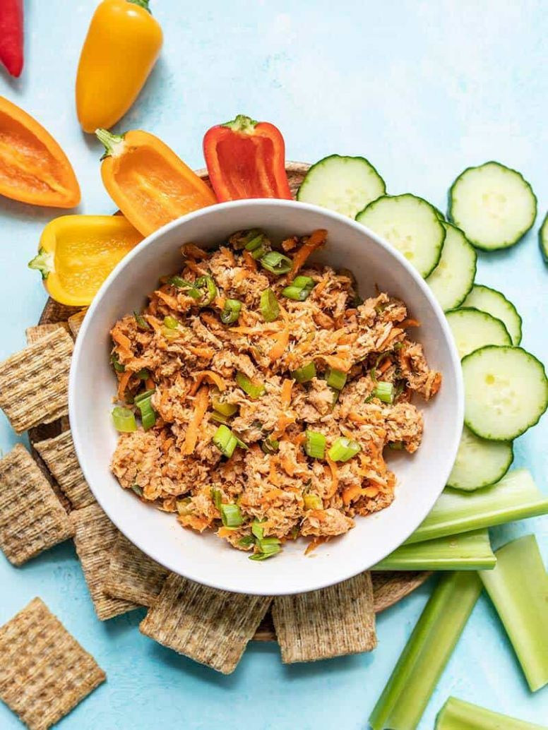 Sweet and Spicy Tuna Salad - No Mayo! - Budget Bytes