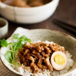 Taiwanese Braised Pork Over Rice (Lu Rou Fan) – Recipes Over Rice