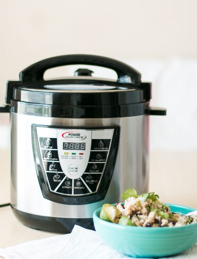 Tangy Black Beans and Rice – Pressure Cooker - Recipes Rice Xl