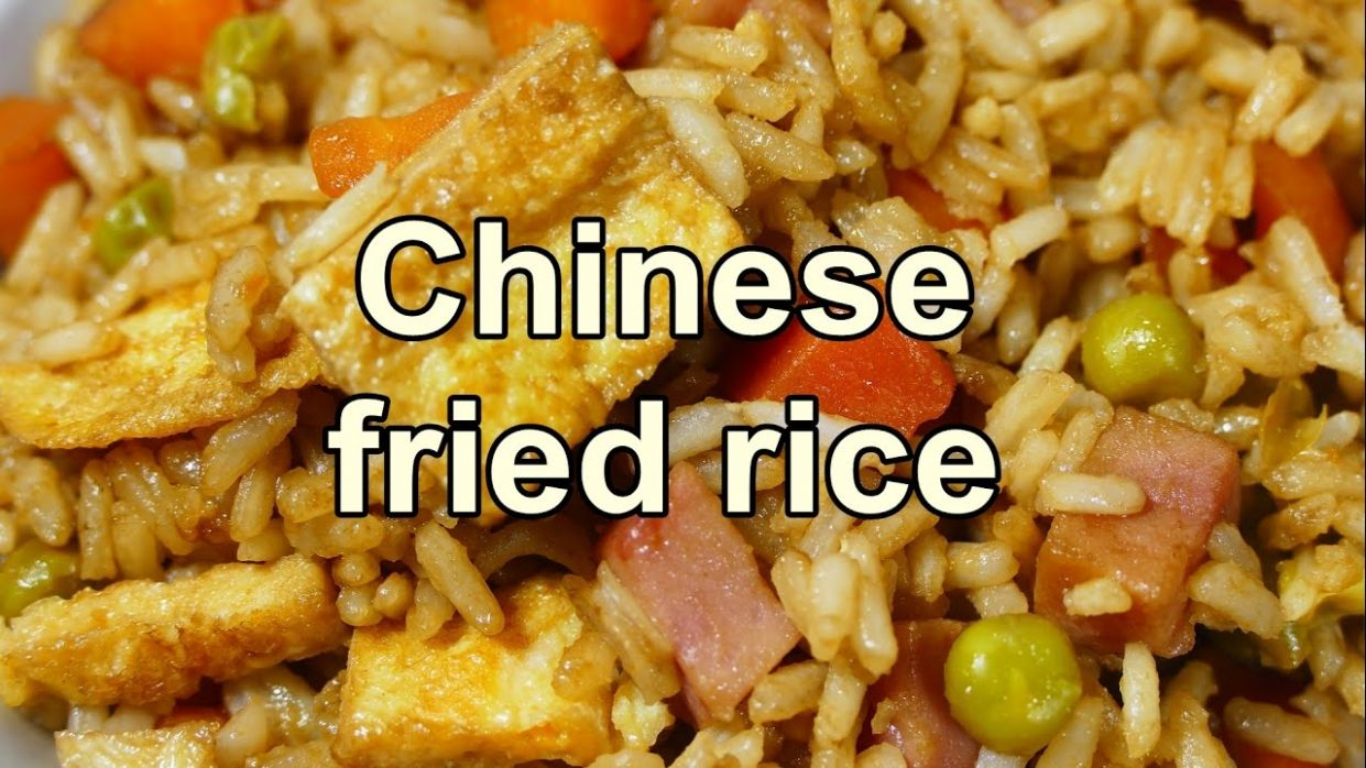TASTY CHINESE FRIED RICE | Easy food recipes videos for dinner to make at  home - Cooking Recipes And Videos