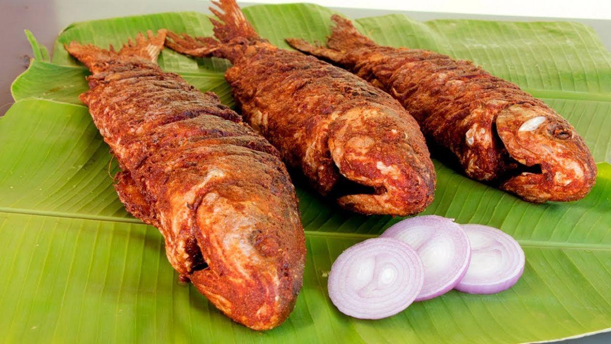 Tasty Fish Fry Recipe - Deep Fried Whole Fish recipe - Recipes Fish Fry