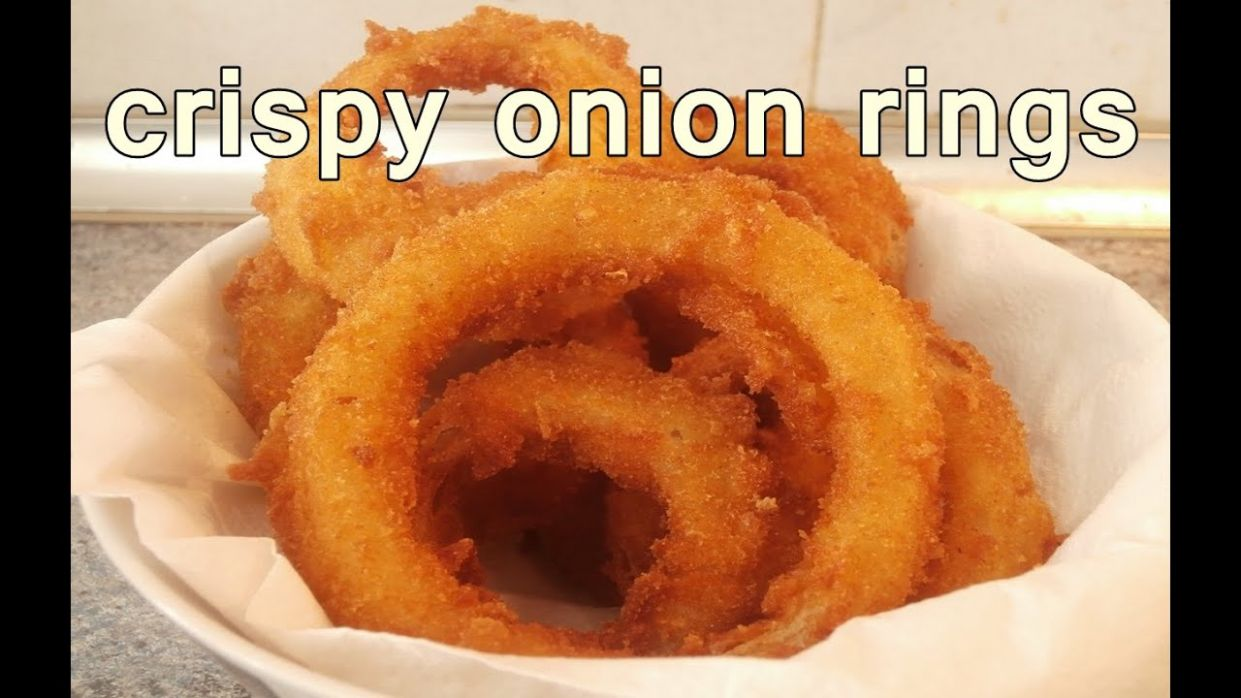 TASTY ONION RINGS - Easy Food Recipes For Dinner to make at home - Cooking  videos - Food Recipes To Make At Home