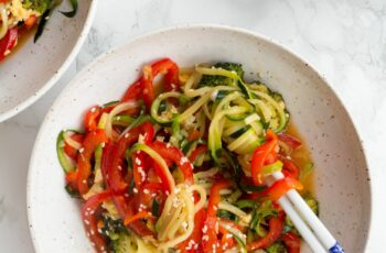 Teriyaki Zucchini Noodle Stir-Fry | Make Weight Loss a Part of ...