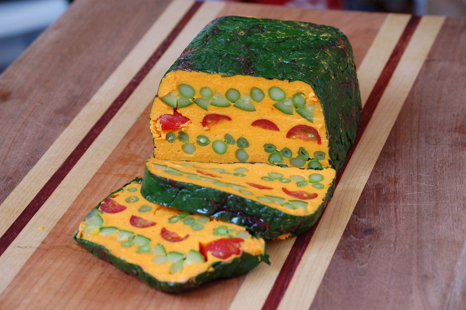 Terrine de Légumes au Curry – Curried Vegetable Terrine - Recipes Vegetable Terrine